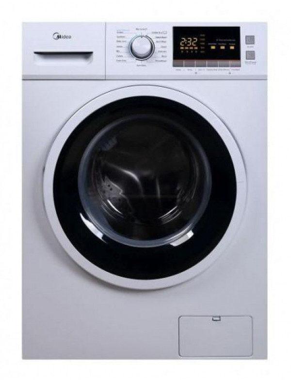 """מכונת כביסה פתח קידמי Midea MFC90ES1401 9 ק""""ג מידאה"""