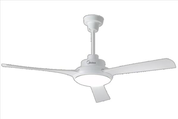מאוורר תקרה 3 כנפיים לבן MIDEA FC132-DR-W
