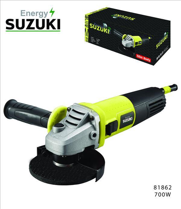 """סוזוקי משחזת זוית """"700W 4.5 דגם SUZUKI Energy MAG7005.02"""
