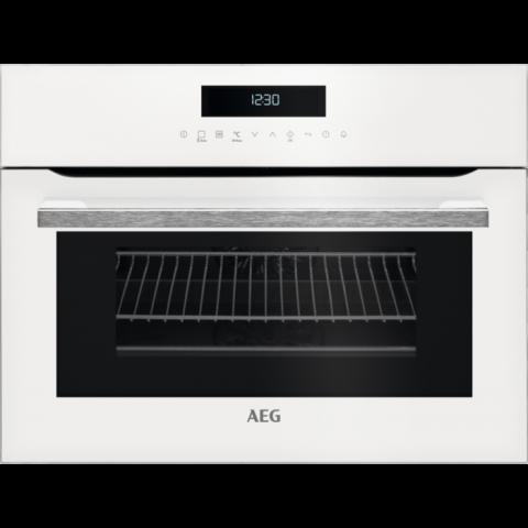 תנור בנוי 43 ליטר משולב מיקרוגל לבן AEG KME761000W אאג