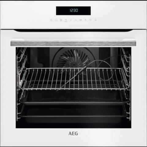 תנור בנוי פירוליטי 71 ליטר לבן AEG BPE264232W אאג