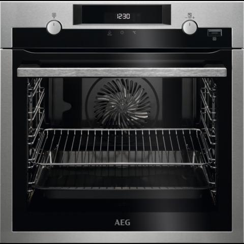 תנור בנוי פירוליטי 71 ליטר נירוסטה AEG BPE255632M אאג