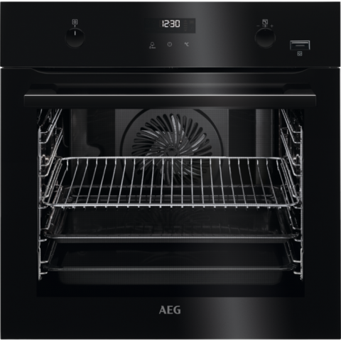 תנור בנוי פירוליטי 71 ליטר שחור AEG BPE255632B אאג