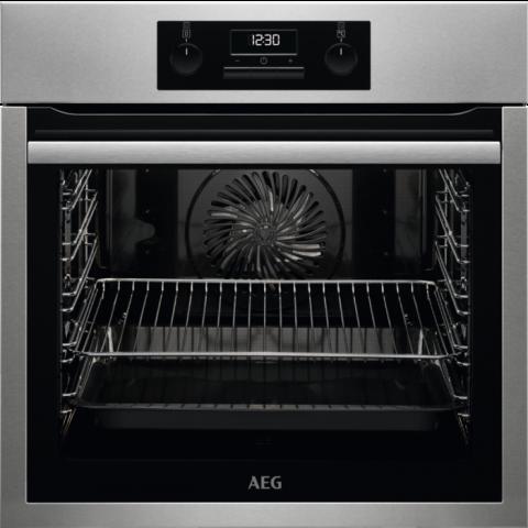 תנור בנוי 71 ליטר נירוסטה AEG BEE233101M אאג