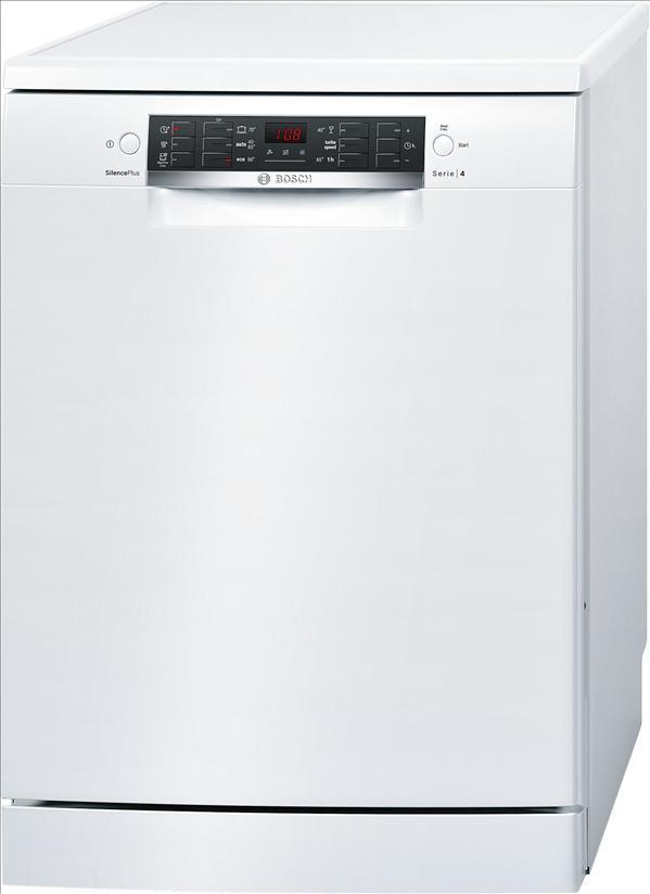 מדיח כלים רחב לבן 13 מע' כלים Bosch SMS46MW01E בוש