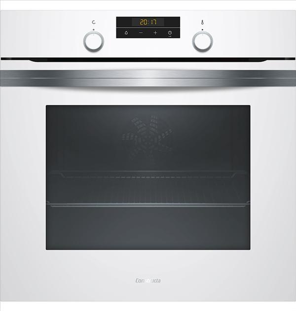 תנור בנוי 71 ליטר Constructa CF4M63020Y זכוכית לבנה קונסטרוקטה