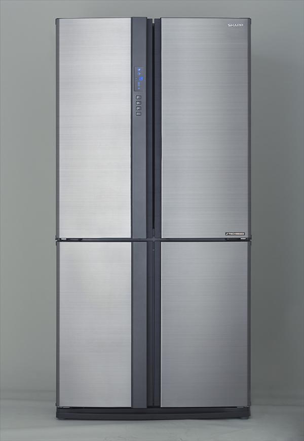 מקרר 4 דלתות 615 ליטר SJR8695 מבית SHARP שארפ