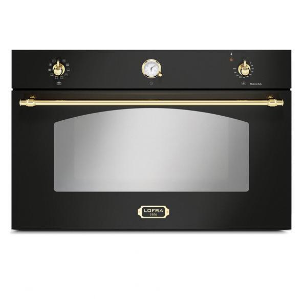 """תנור בנוי Lofra FRNM99EE לופרה 90 ס""""מ שחור/זהב"""