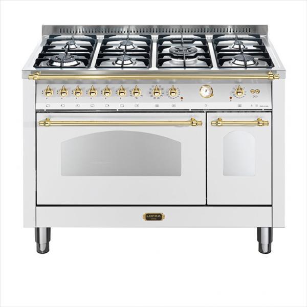 תנור משולב כיריים מפואר Lofra RSD126MFT לופרה נירוסטה/זהב
