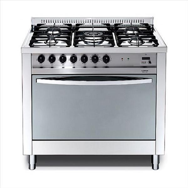 תנור משולב כיריים Lofra MSG96MFT Cool לופרה נירוסטה