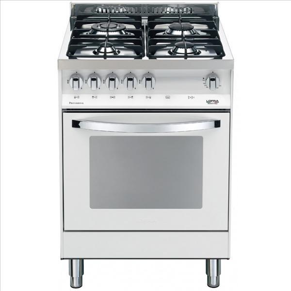 תנור משולב כיריים Lofra Professional 60 MSB66MF/CI