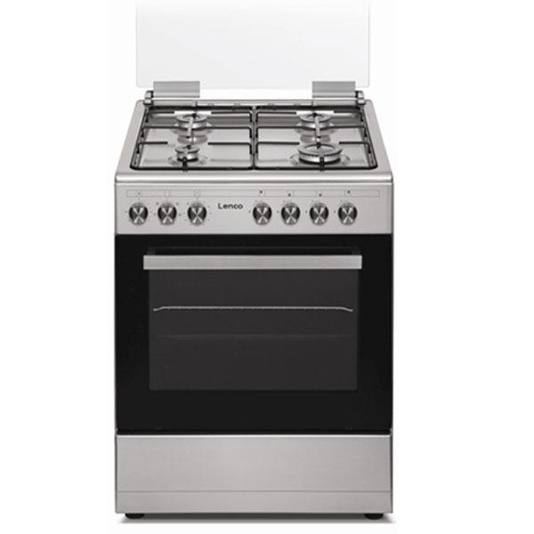 תנור משולב כיריים Lenco LFS6089IX לנקו