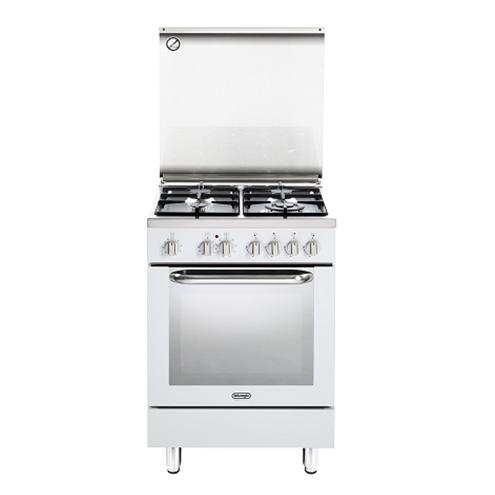 תנור משולב כיריים Delonghi NDS577W דה לונגי
