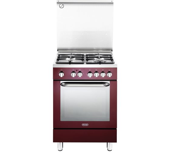 תנור משולב כיריים Delonghi NDS577R דה לונגי
