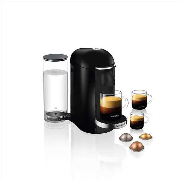 מכונת קפה VertuoPlus מבית NESPRESSO דגם GBC2 בגוון שחור