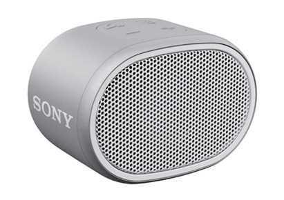רמקול נייד לבן Sony SRS-XB01W סוני