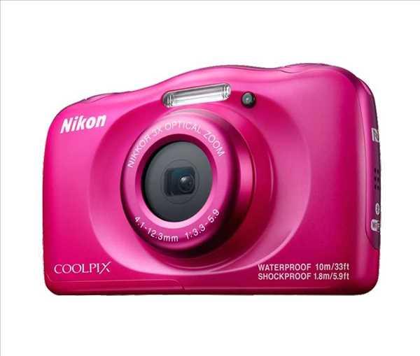 מצלמה תת ימית/נגד מים Nikon Coolpix W100 ניקון+תיק