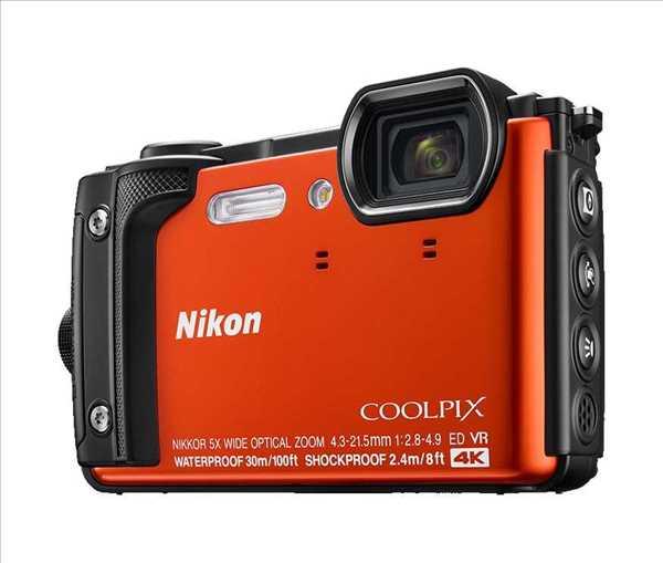 מצלמה Nikon Coolpix W300 OR ניקון +תיק