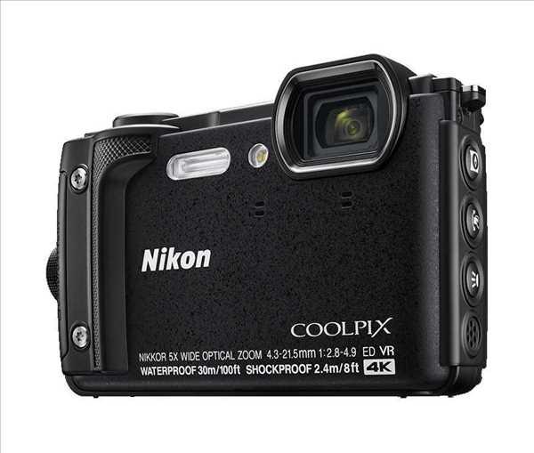 מצלמה Nikon Coolpix W300 BK ניקון +תיק