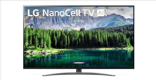 """טלוויזיה LG 55""""  Smart 4K NanoCell 55SM8600 אל ג'י"""