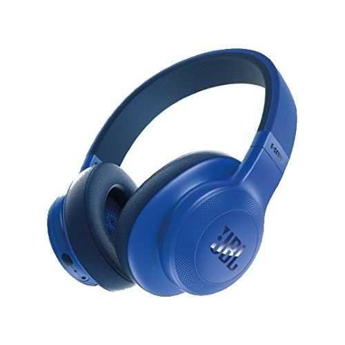 אוזניות JBL E55BT Bluetooth - כחול