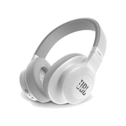 אוזניות JBL E55BT Bluetooth - לבן