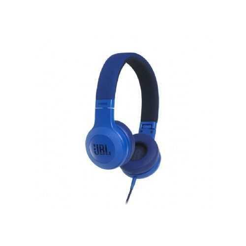 אוזניות חוטיות JBL E35 - כחול