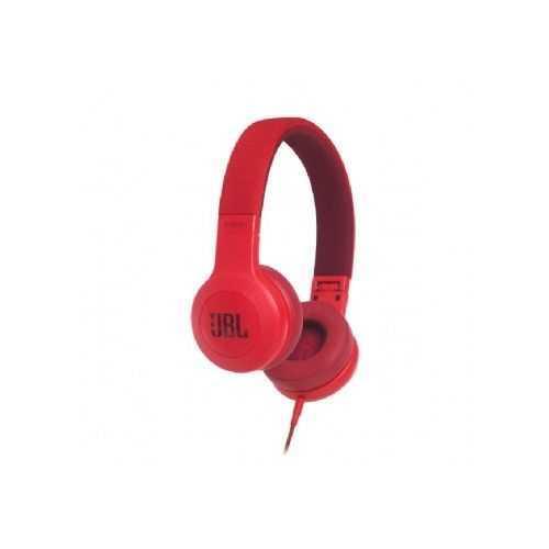 אוזניות חוטיות JBL E35 - אדום