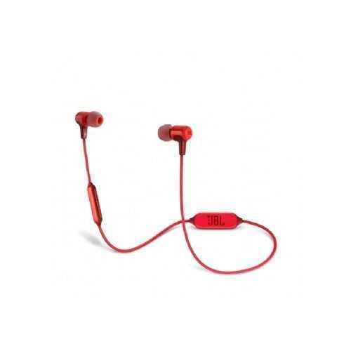 אוזניות JBL E25BT Bluetooth - אדום