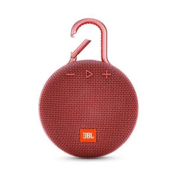 רמקול נייד JBL Clip 3 - אדום