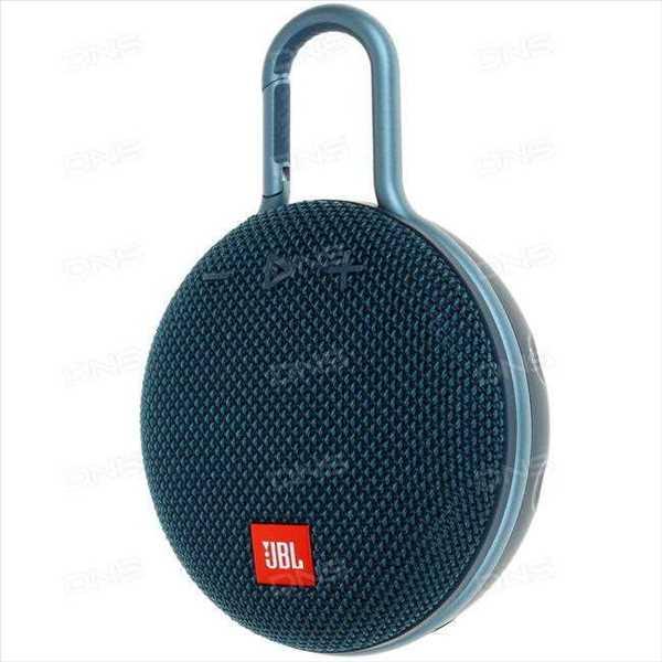 רמקול נייד JBL Clip 3 - כחול
