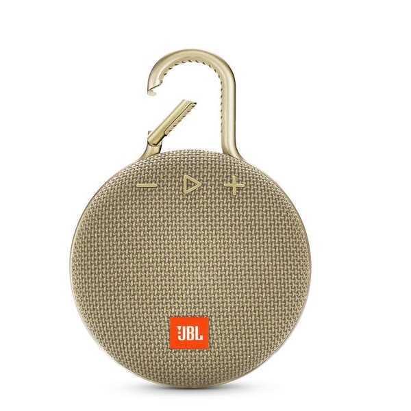 רמקול נייד JBL Clip 3 - חום