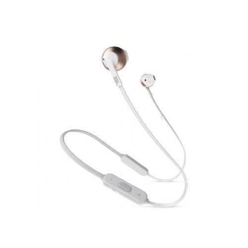 אוזניות JBL Tune 205BT Bluetooth - לבן זהב