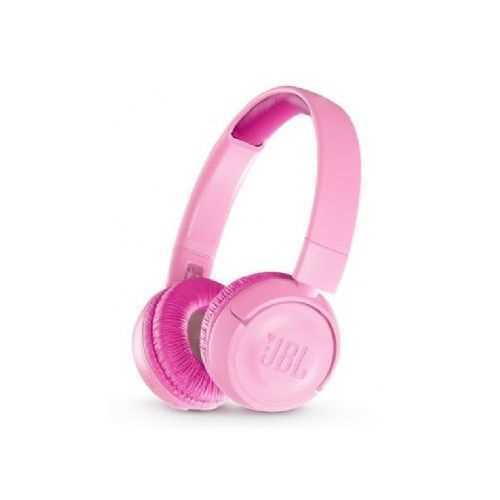 אוזניות JBL JR300BT Bluetooth - ורוד