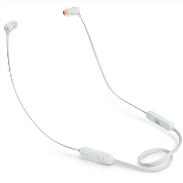 אוזניות JBL T110BT Bluetooth - לבן