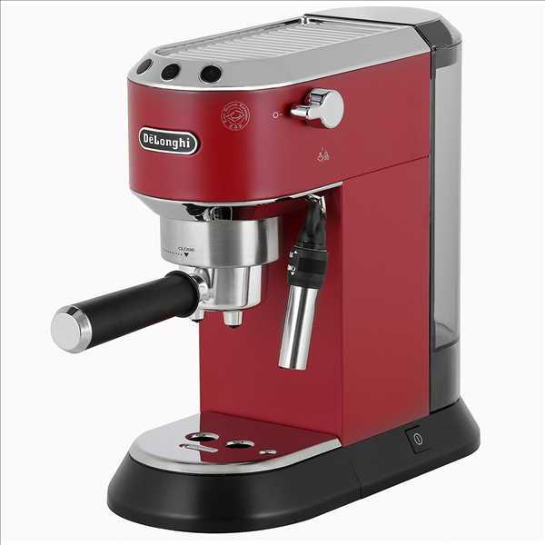 מכונת אספרסו ידנית Delonghi DEDICA EC 685 אדום דלונגי
