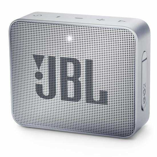 רמקול נייד JBL GO 2 - אפור