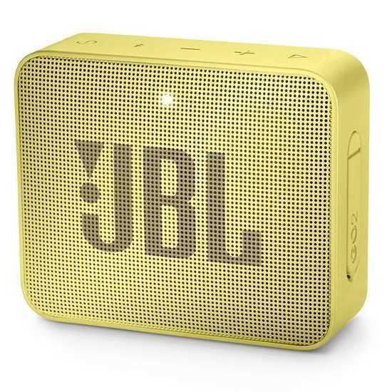 רמקול נייד JBL GO 2 - צהוב