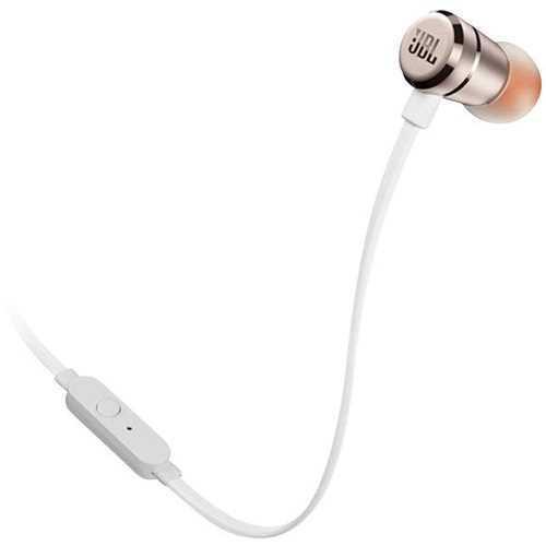 אוזניות חוטיות JBL T290 - זהב שמפניה
