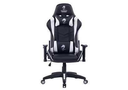 כסא גיימינג Dragon Ggladitor לבן