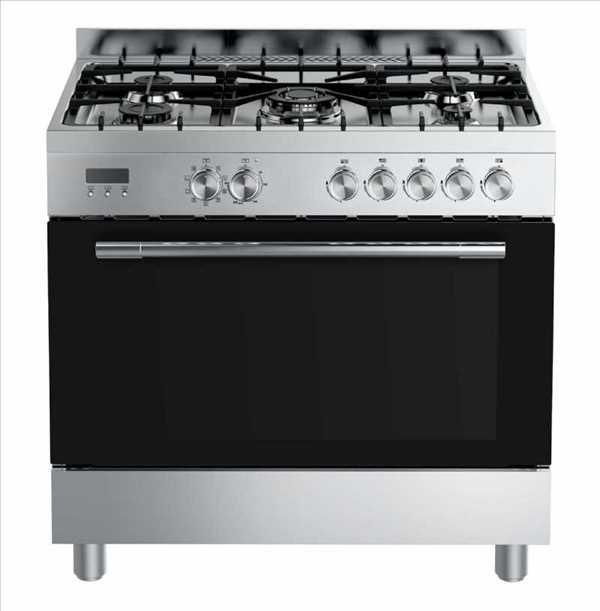 תנור משולב כיריים Midea 36QMS5GP48 מידאה