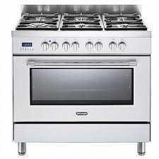 תנור משולב כיריים Delonghi NDS981W דה לונגי