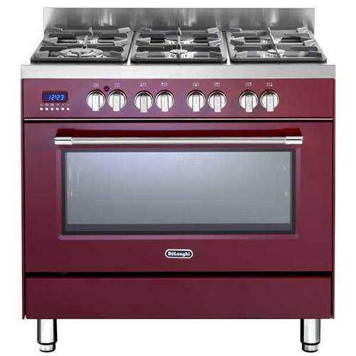 תנור משולב כיריים Delonghi NDS981R דה לונגי