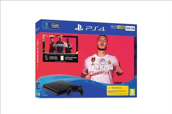Sony Playstation 4 SLIM 500G FIFA 20 Bundle