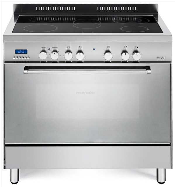 תנור משולב כיריים אינדוקציה Delonghi NDSI1050X דה לונגי