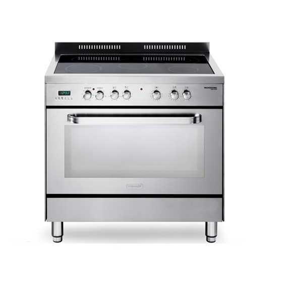 תנור משולב כיריים קרמיות Delonghi NDS990X דה לונגי