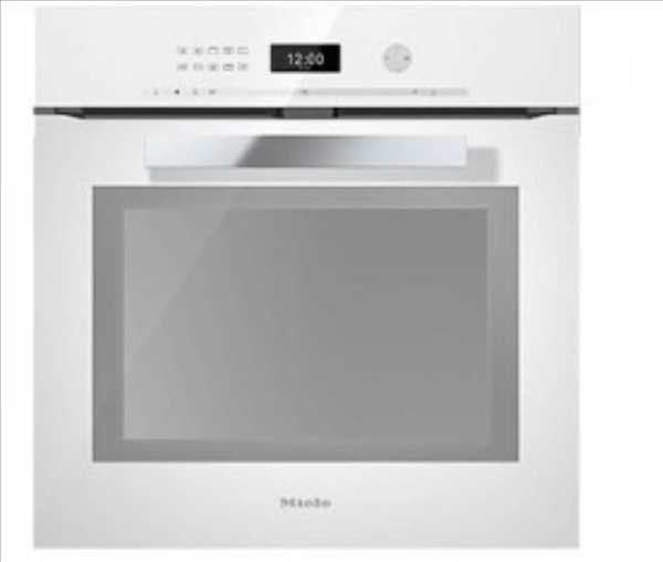 תנור בנוי Miele H6461BP מילה צבע לבן