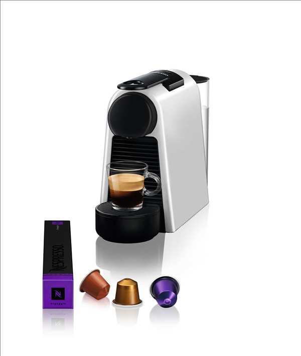 מכונת אספרסו Nespresso Essenza Mini D30 נספרסו בגוון כסוף מט (מהדורה מוגבלת)