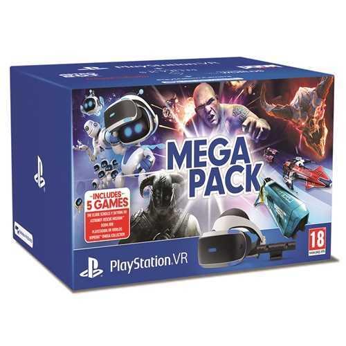 משקפי מציאות מדומה Sony PlayStation VR Mega Pack סוני