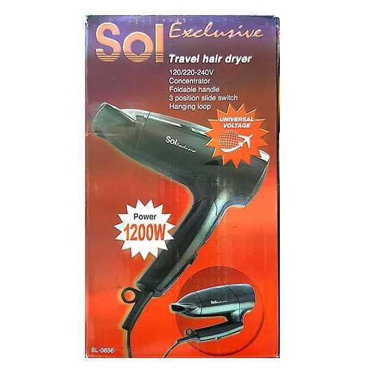 מייבש שיער טיולים SOL SL-3656 סול